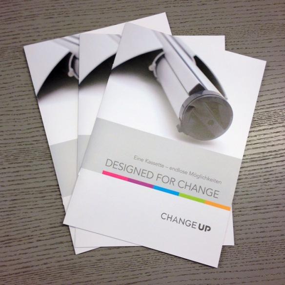 CHANGE UP Broschüren