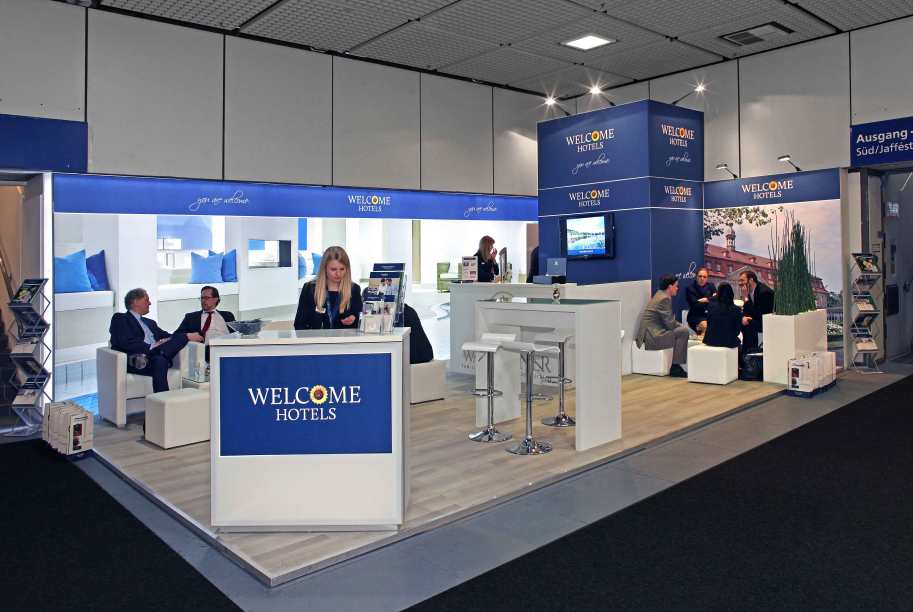 Welcome Hotels Panoramic Messestand